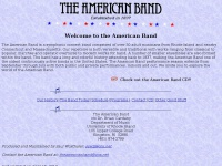 Theamericanband.org