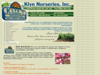 Klynnurseries.com - Klyn Nurseries, an Ohio based wholesale nursery growing diverse trees, shrubs, and perennials.