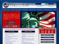 Immigration Links | Immigration Forms Immigration Help Immigration News Immigration Research  | Your Immigration Link to the World | Free Immigration News, Immigration Information, and Immigration Legal Research.