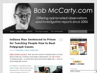 BobMcCarty.com | Offering Opinionated Observations & Investigative Reports Since 2006