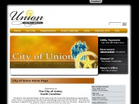City Of Union - City of Union Home Page