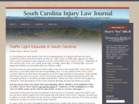 South Carolina Injury Law Journal - Anderson and Greenville Lawyer & Attorney Workers' Compensation Cases, Product Liability Lawsuits, and Accidents
