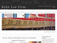 Kahn Law Firm Personal Injury Attorneys  843.577.2128