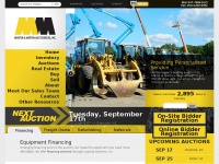 Mmaofms.com - Martin & Martin Auctioneers of Mississippi : The Leader in Construction and Industrial Equipment Auctions, Real Estate Auctions, Farm Equipment and Heavy Machinery.