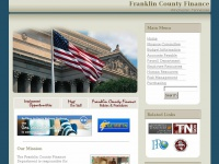 Franklin County Finance