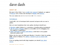 davedash.com
