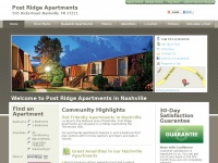 postridgeapartments.com