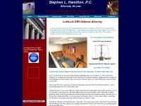 criminaldefenseattorneylubbock.com
