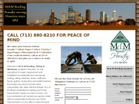 mmroofsidinghouston.com