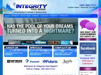 Pool Repair | Pool Service | Pool Maintenance | Houston | Pearland | Friendswood | Clear Lake City INTEGRITY POOL REPAIR Houston, TX (281) 464-7111