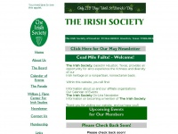 Theirishsociety.org
