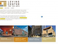 levinecenterarts.org
