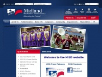 Midlandisd.net - Midland Independent School District / Overview