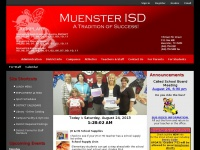 Muenster ISD / Overview