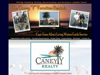 Home page for Caney Y Adventures and Capt. Gene Allen Living Waters Guide  Service