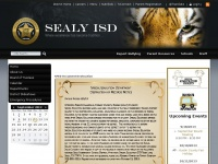 Sealy ISD - District Home Page