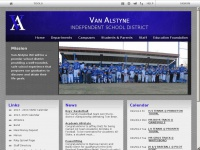 Van Alstyne ISD: Home Page