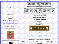 Seguin Descendants Historical Preservation