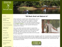 East Texas Lake Cabin Rentals, Deer Lake Cabins
