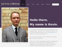 Kevin Owens | C# developer in Salt Lake City.