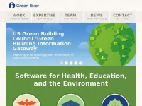 Green River - Hand crafted software for Health, Education, and the Environment | Green River