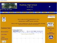 Poultney High School Home Page