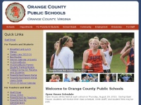Orange County Public Schools, Orange County Virginia