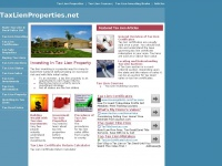 Tax Lien Properties | Investing in Government Tax Sales Property