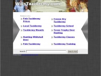 willstaxidermy.com