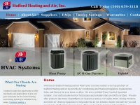 HVAC Fredericksburg | Heating and Air Conditioning Stafford | Stafford Heating and Air | Spotsylvania, Virginia