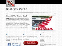 Blalock Cycles - Warrenton Virginia - Home of the Country Deal