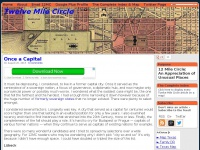 Twelve Mile Circle    » maps, geography, travel