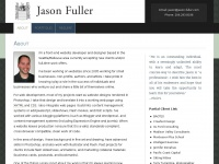Jason Fuller - Website Maintenance | Developer | Designer