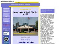 Welcome to the Loon Lake School!