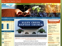 allencreekbaptist.com
