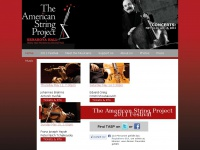 Theamericanstringproject.org