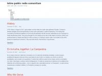 latinopublicradioconsortium.org