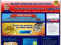 Lrccoins.com - Buy Gold and Silver, Morgan Silver Dollars & Peace Silver Dollars, 401k rolloverThe Scott Luther Gold and Silver Express | Gold – Silver – Precious Metals – Rare Coins