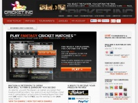 Fantasy Cricket Matches™ The REAL Fantasy Cricket Game