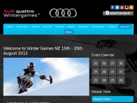 Home | Audi Quattro Winter Games NZ 2013