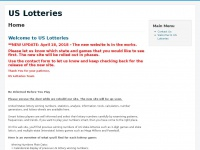 Us-lotteries.com - United States Lotteries - Winning numbers, analysis, RSS feeds, tips and wheels