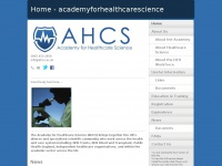 academyforhealthcarescience.co.uk