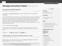 Harappa Ancestry Project | Genetics and South Asia