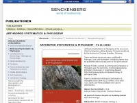 arthropod-systematics.de