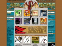 Trueswords.com - True Swords - Samurai Swords, Full Tang, Real Blades, Movie, Anime, Video Game, & Manga Replicas