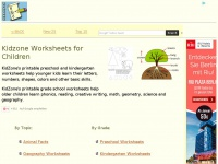 Kidzone.ws - Kidzone Educational Worksheets!