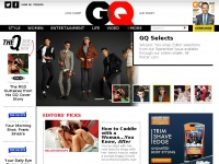 GQ Magazine Online: Look Sharp, Live Smart:  GQ