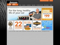 Jensen Tire & Auto | Auto Repair - Tires - Brakes - Oil Change