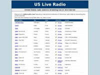 US Live Radio - United States radio stations streaming live on the internet