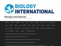 Biologyinternational.org
